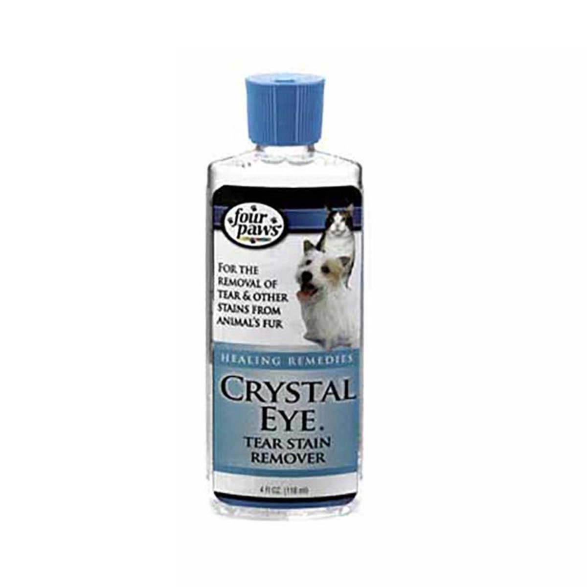 4 ounce Four Paws Crystal Eye Tear Stain Remover for Dogs at Ryan's Pet Supplies