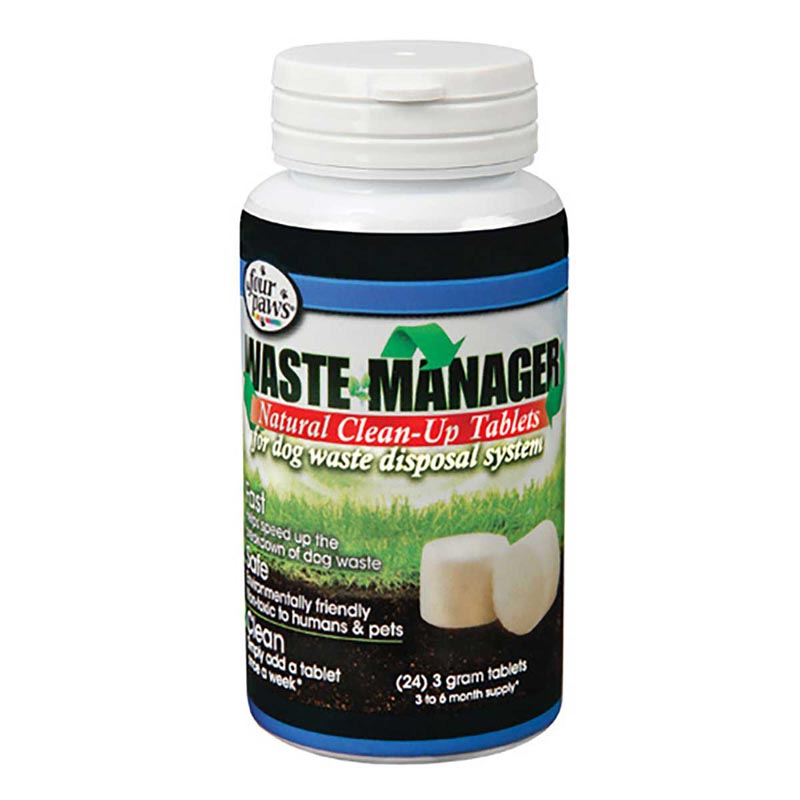 Natural Enzyme Tablets 24 Ct For Waste Manager