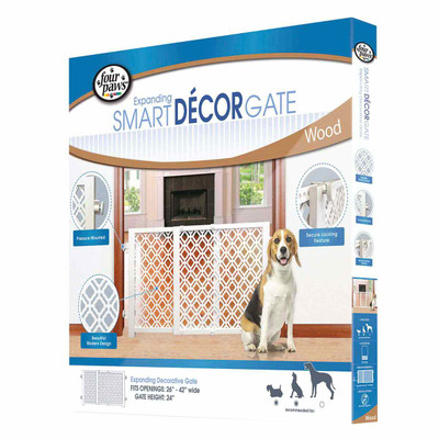 Four Paws Expanding D 233 Cor Gate Expands From 26 Inches