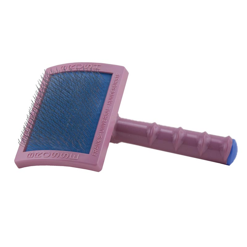 Franks Universal Grande Pink Slicker Brush Soft