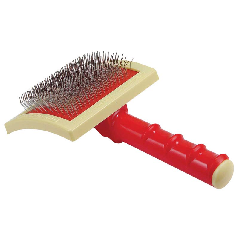 Franks Universal Grande Original Curved Slicker Brush