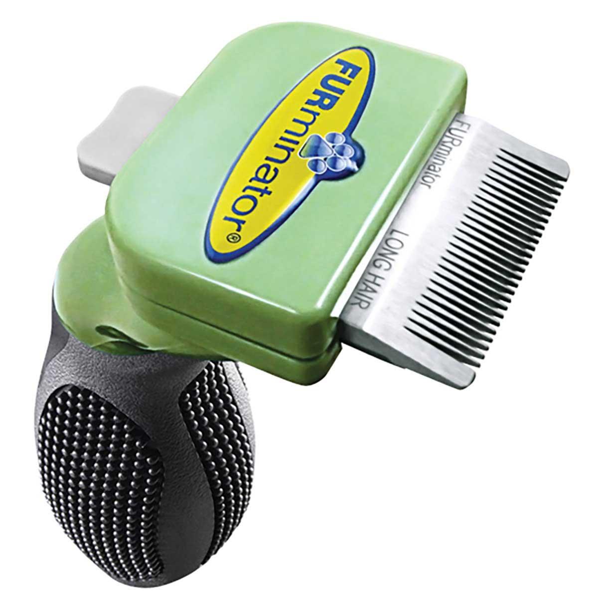 Furminator Toy Dog Long Hair Deshedding Brush Tool