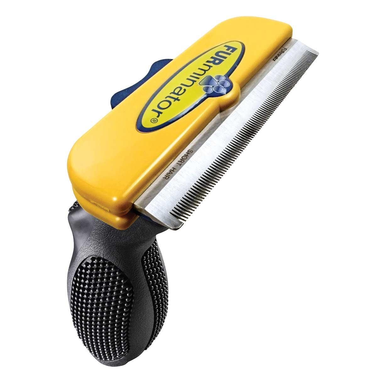 Furminator Large Dog 4 inch Deshedding Tool for Short Hair 51-90 Lbs