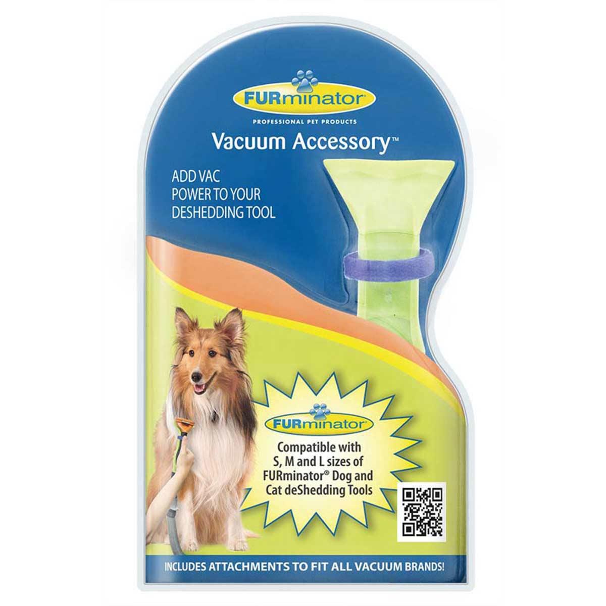 Furminator Vacuum Accessory in the Packaging