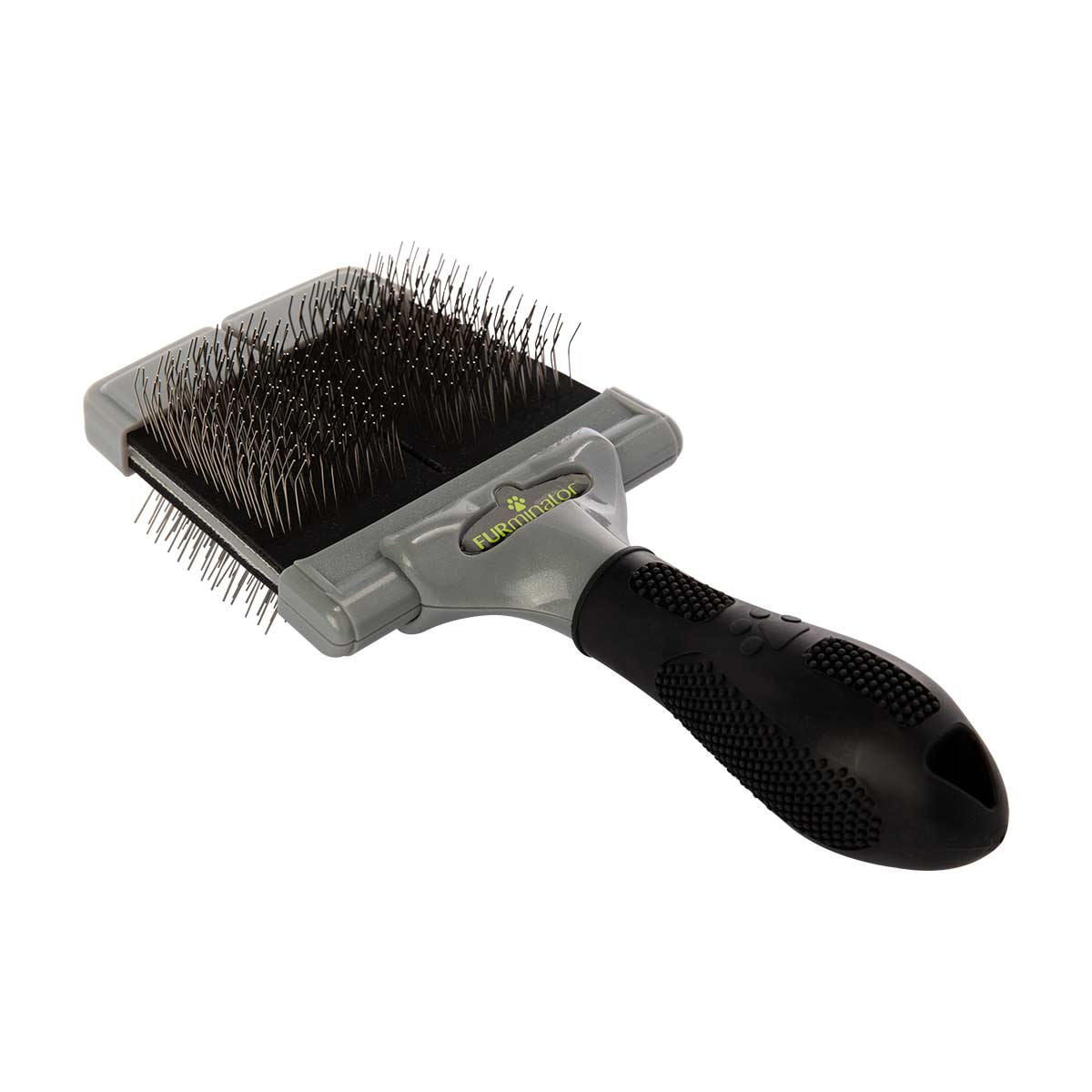Furminator Large Firm Slicker - Twin head for Detangling