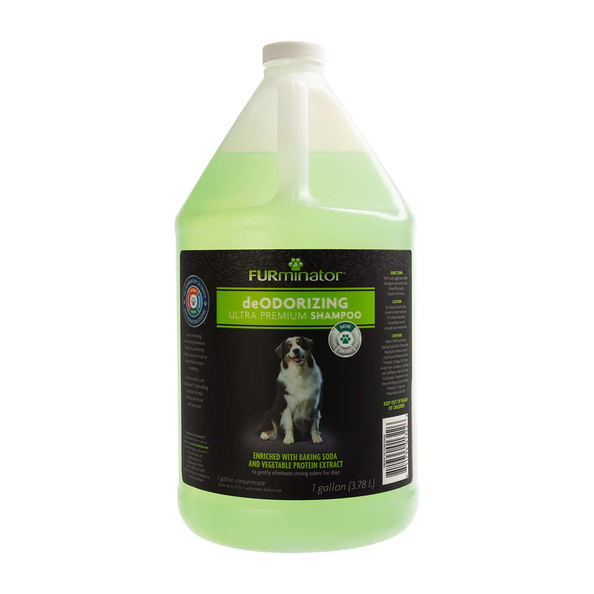 Furminator Deodorizing Ultra Premium Dogs Shampoo - Gallon Concentrated 10 to 1