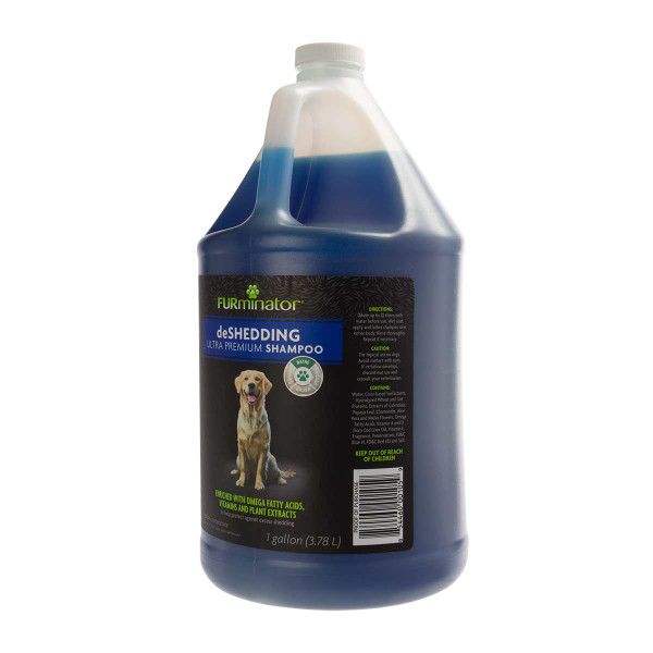 Gallon of Furminator Deshedding Dog Shampoo