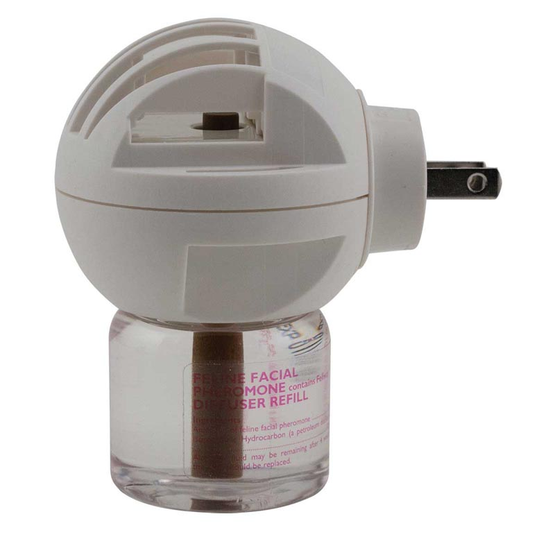 Comfort Zone Plug-In Feline Facial Pheromone Diffuser With Feliway For Cats 48 ml