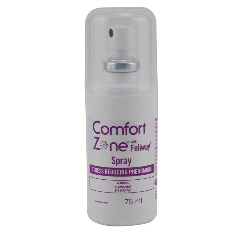 Stress Reducing Pheromone Comfort Zone With Feliway Spray For Cats 75 ml