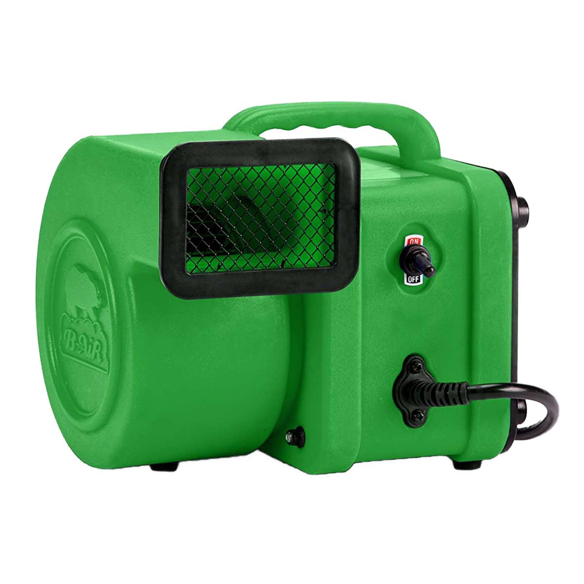 B-Air Cub Dryer Green for Professional Grooming Kennels