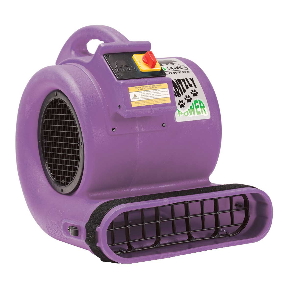 Grizzly B-Air Cage Dryer ETL Purple for Professional Grooming