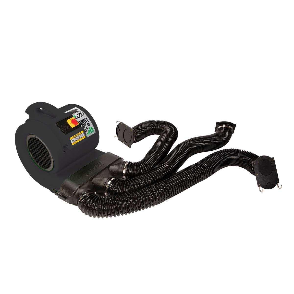 Professional Grooming Black Grizzly B-Air Dryer ETL & Den Drying Kit