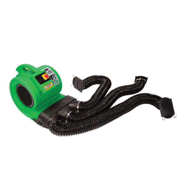 ETL Grizzly B-Air Dryer and Den Drying Kit in Green for Professional Grooming