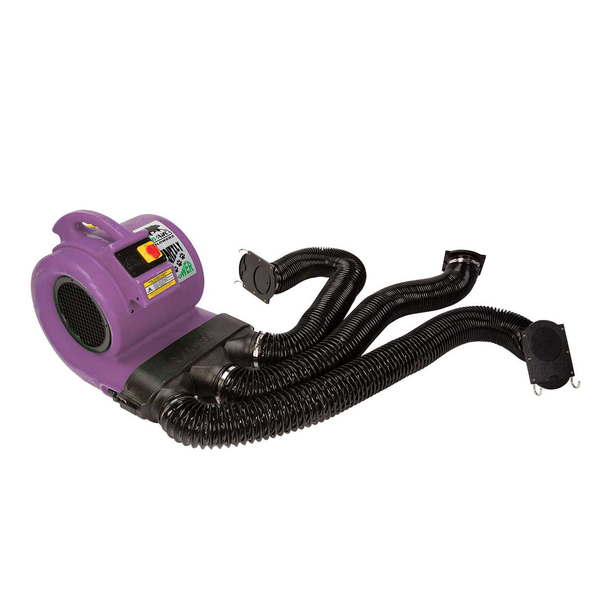 Purple Grizzly B-Air Dryer ETL & Den Drying Kit for Cage Drying