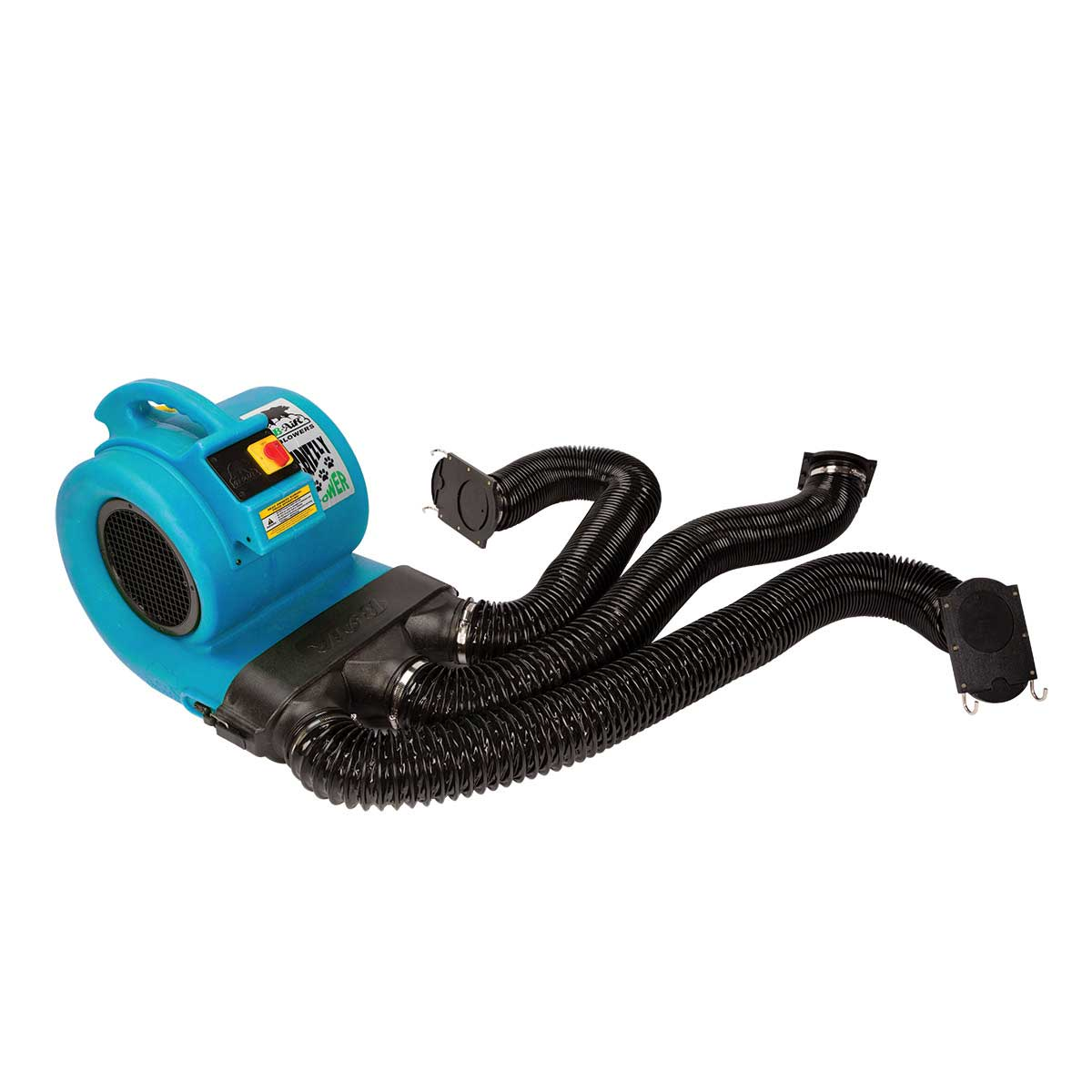 Turquoise Grizzly B-Air Den Drying Kit for ETL Dryer