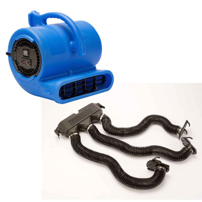 Blue B-Air Vent-33 ETL Dryer With Drying Kit for Dog Grooming