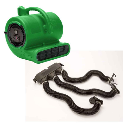 Green B-Air Vent-33 ETL Dryer With Drying Kit