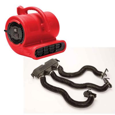 Red B-Air Vent-33 ETL Dryer With Drying Kit