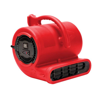 Red B-Air Vent-33 ETL Dryer for Dog Grooming