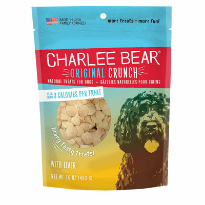 Chicken Liver 16 oz Charlee Bear Original Crunch Treats