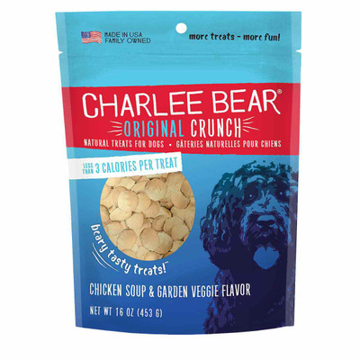 Chicken Soup Charlee Bear Original Crunch Treats for Dogs 16 oz