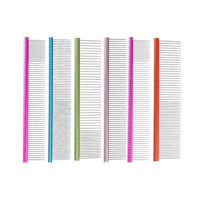 Groom Professional Spectrum Aluminium Comb and other Combs by brands you can trust at Ryan's Pet Supplies