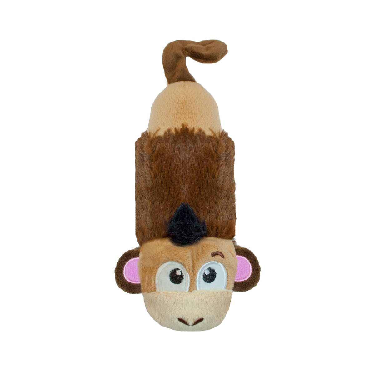 Outward Hound Stuffing-Free Big Squeak Monkey for Dogs