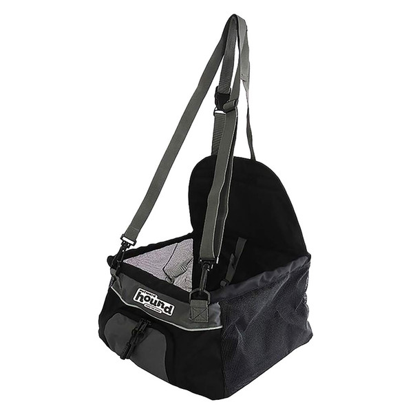 Medium Outward Hound Booster Seat Black available at Ryan's Pet Supplies