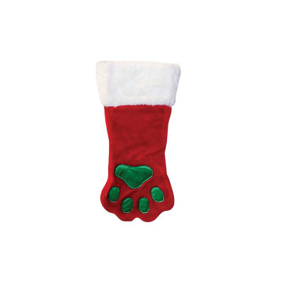 Large Outward Hound Holiday Paw Stocking for Pets