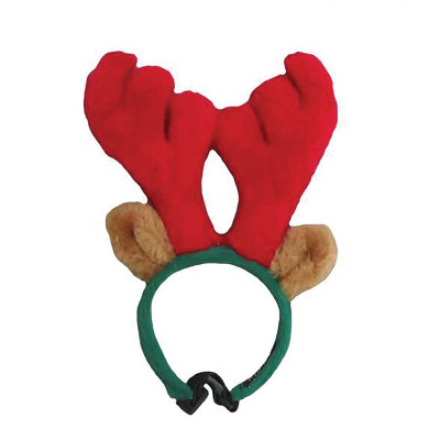 Large Outward Hound Plush Antler Headband at Ryan's Pet Supplies