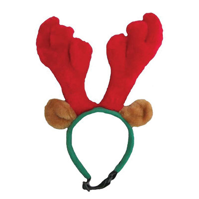 Small Outward Hound Plush Antler Headband at Ryan's Pet Supplies