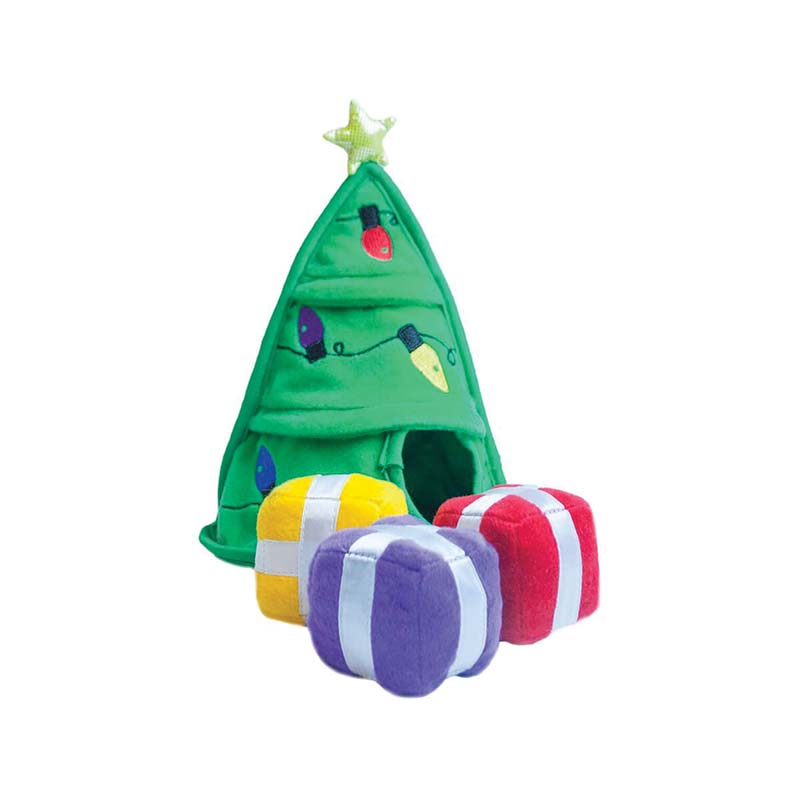 Outward Hound Holiday Hide-A-Present Dog Toy at Ryan's Pet Supplies