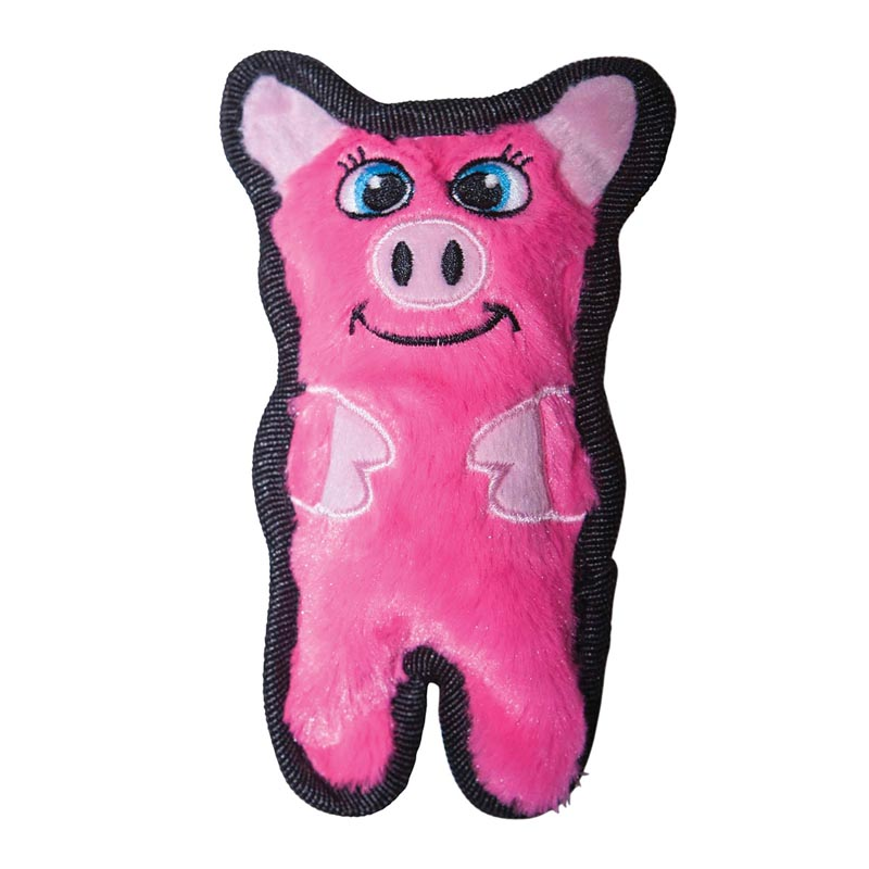 Outward Hound Kyjen Invincibles Mini Pig Toy for Dogs