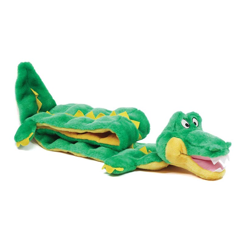 Outward Hound Gator Squeaker Mat 50 inch Dog Toy