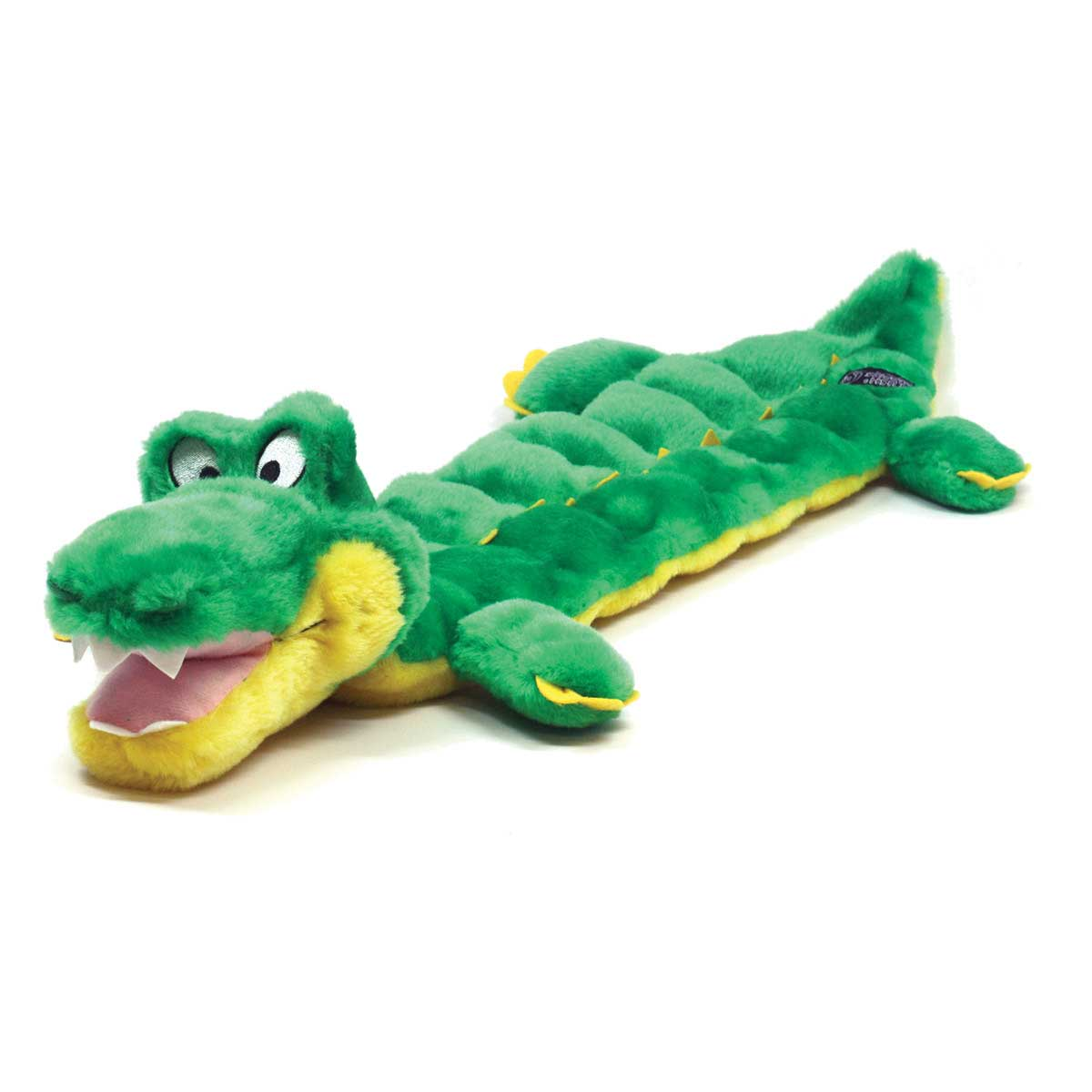 31 inch Outward Hound Squeaker Mat Long Body Gator Dog Toy