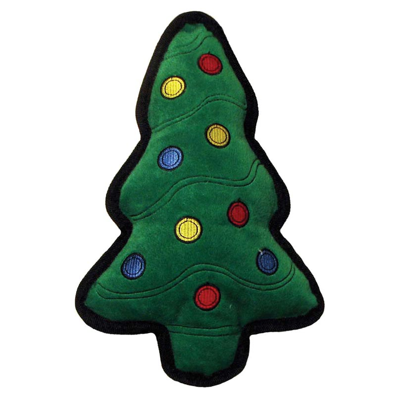 Outward Hound Tuff Ones Christmas Tree Dog Toy