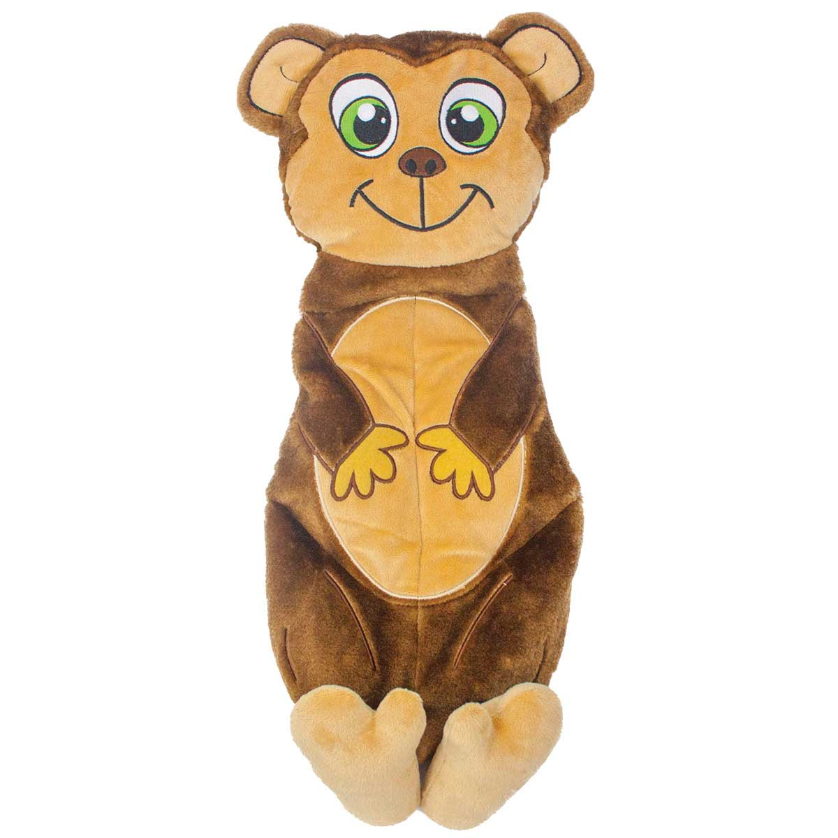 Outward Hound Squeakimals Monkey Large 22.5 inch Dog Toy
