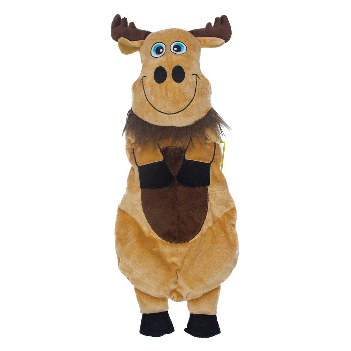 11.5 inch Outward Hound Squeakimals Moose Mini Dog Toys