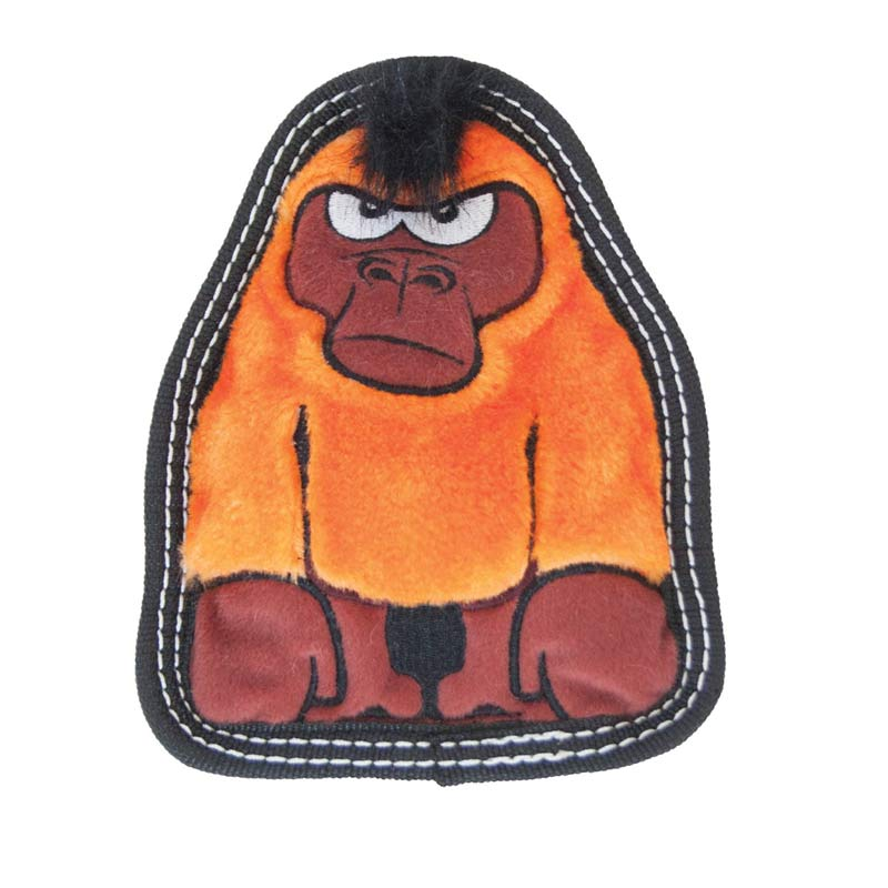 Outward Hound Invincibles Tough Seamz Gorilla - Toy for Heaving Chewer Dogs