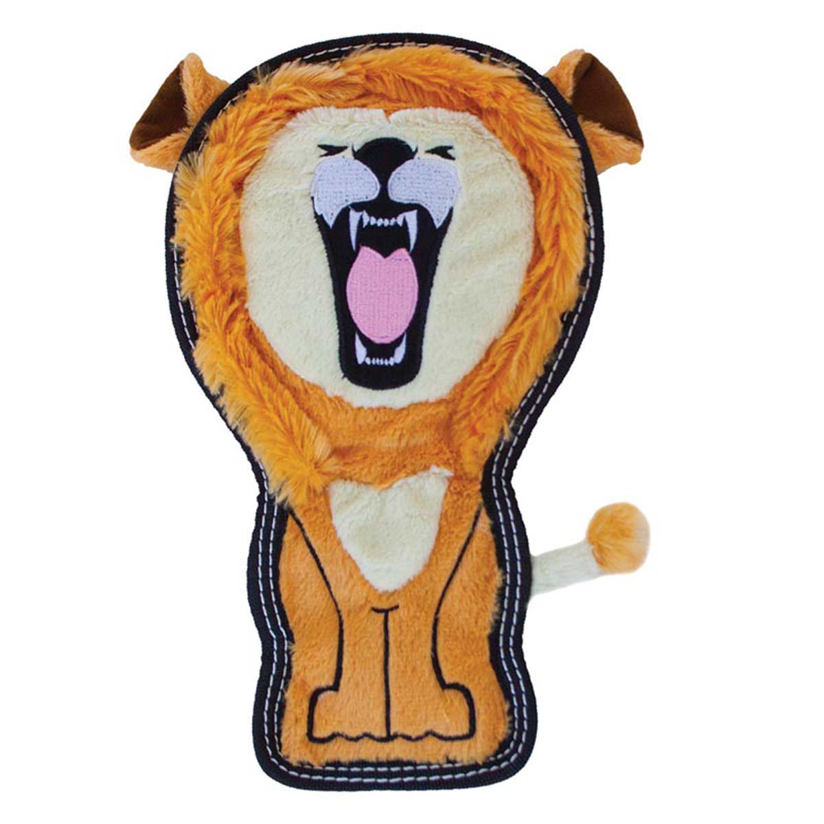 Outward Hound Invincibles Tough Seamz Lion - Heavy Chewers