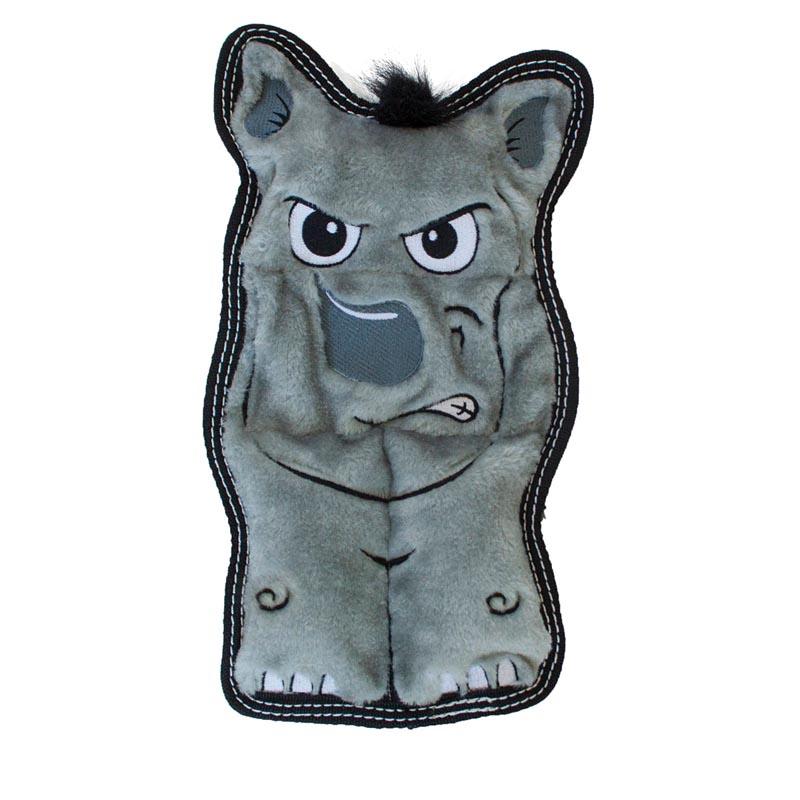 Outward Hound Invincibles Rhino Tough Seamz Dog Toy