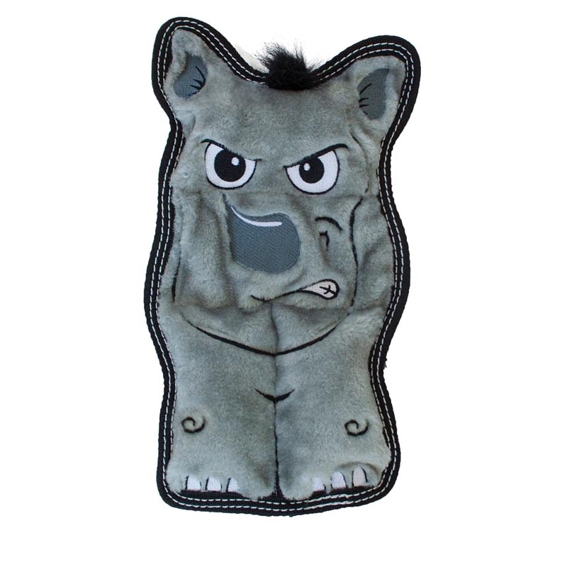 Outward Hound Invincibles Rhino Tough Seamz Dog Toy