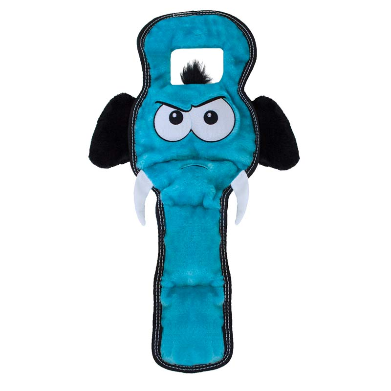 Outward Hound Invincibles Elephant Tough Seamz Tug Toy for Dogs