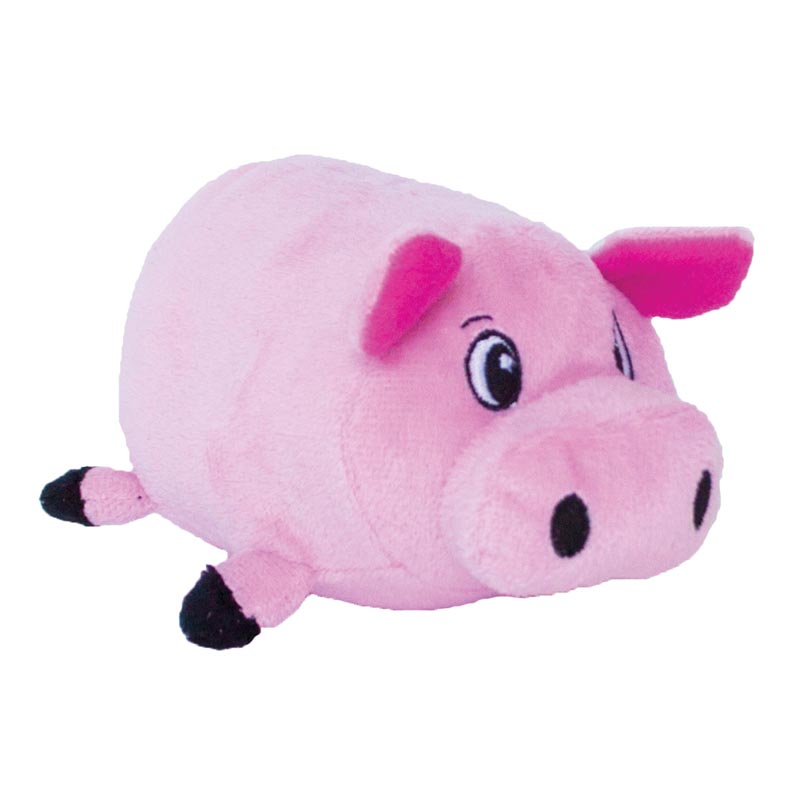 Outward Hound Fattiez Pig Dog Toy