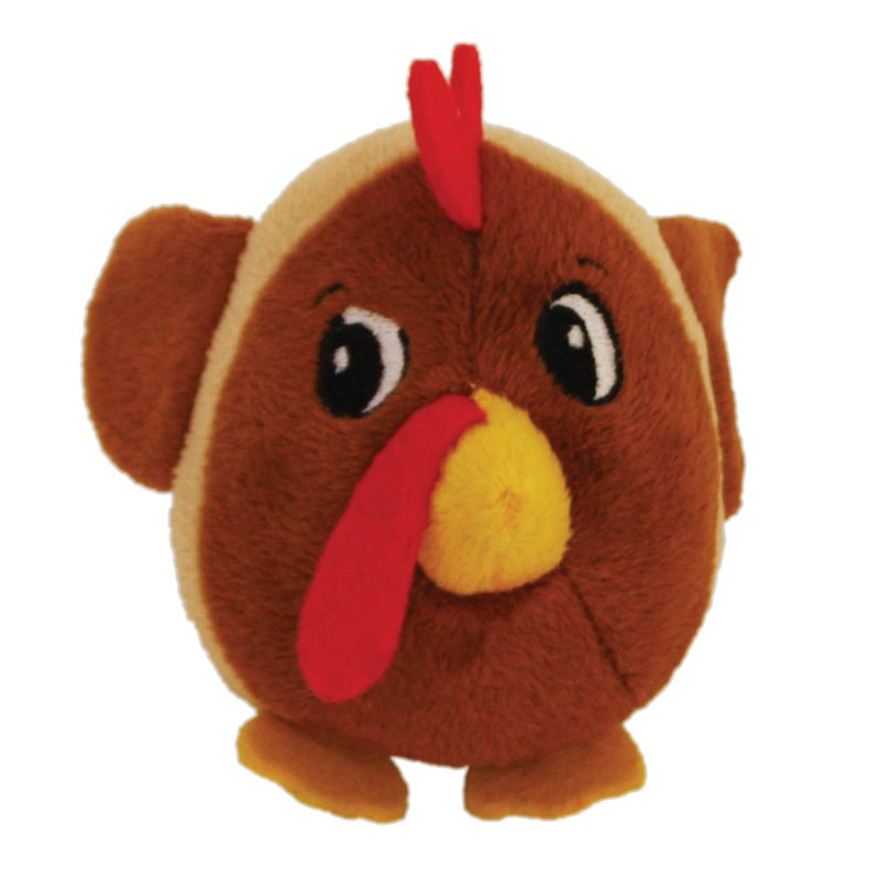 Outward Hound Fattiez Chicken Plush Dog Toy