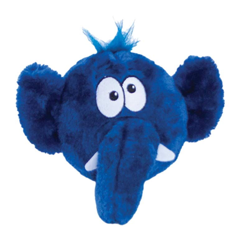 Outward Hound Invincibles Tosserz Elephant Plush Toy for Dogs
