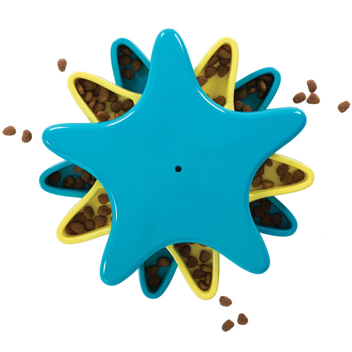 Outward Hound Star Spinner Game for Dogs - Dispenses Food and Treats