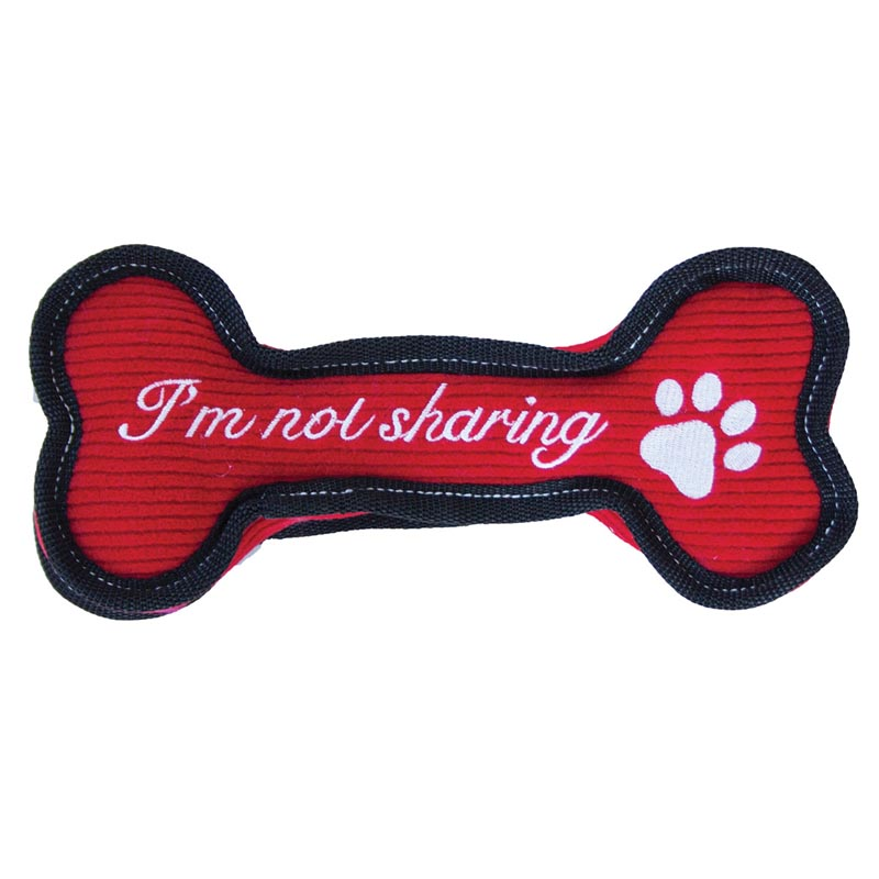 Outward Hound Invincibles Holiday Bone Toy for Dogs