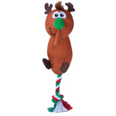 Outward Hound Yankiez Reindeer Tug Toy
