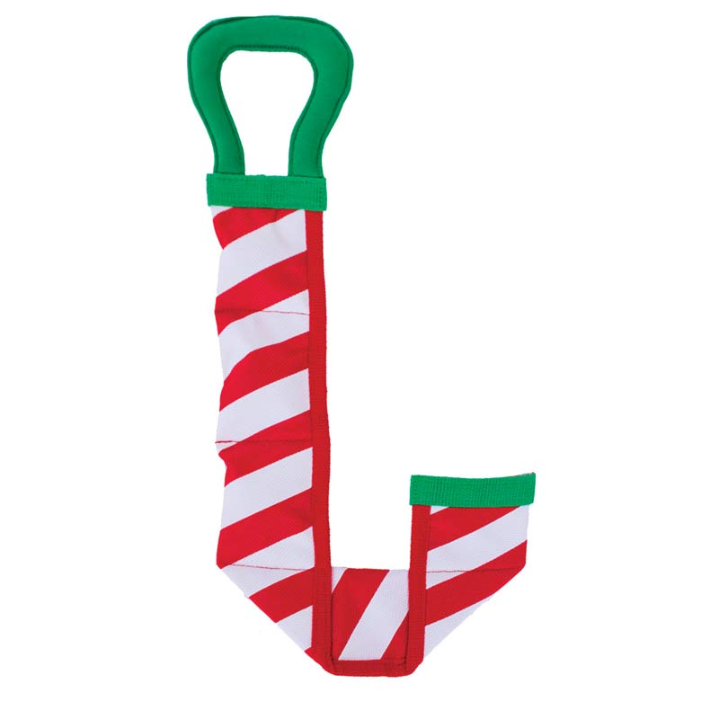 Outward Hound Fire Biterz Candy Cane Toy for Heavy Chewers